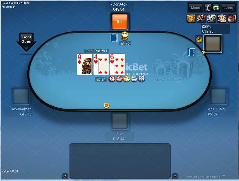 Nordicbet poker