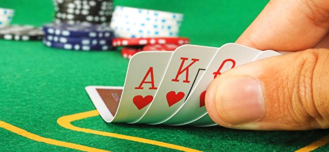 Turning cards