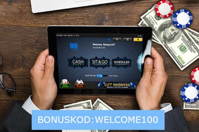 bonuskod 888poker