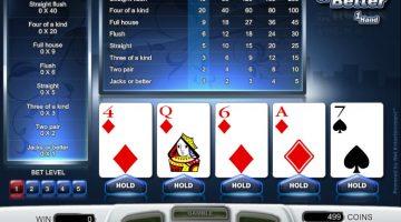 hur spelar man video poker
